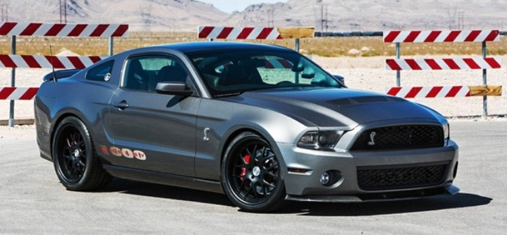 shelby 1000 mustang in action
