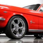 vivid red 1966 ford mustang coupe