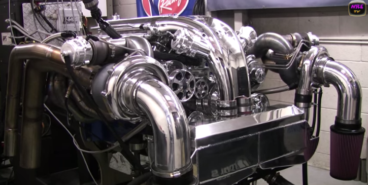 1500hp twin turbo chrysler hemi engine mo-cad