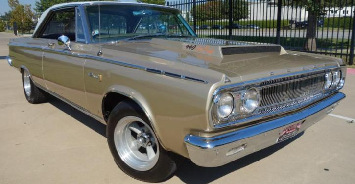 1965 dodge coronet 440 six pack