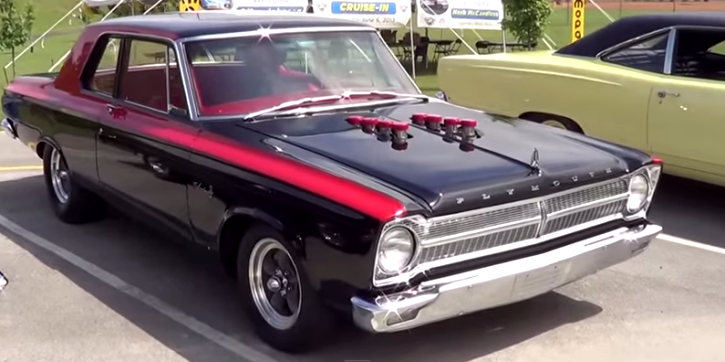 1965 plymouth belvedere 1 a990 drag race car