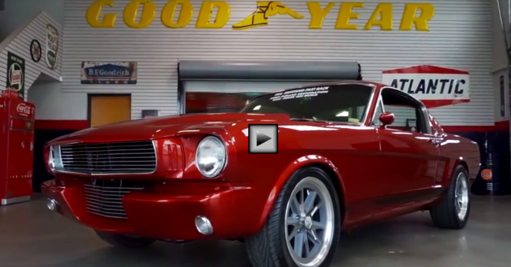 Cool 1966 Ford Mustang Fastback Gt 350 Tribute Hot Cars