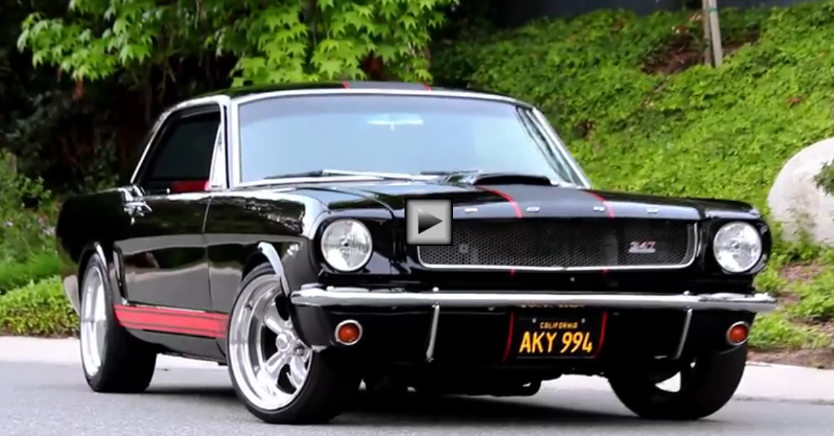 1966 ford mustang 347 stroker muscle car