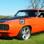 1969 chevy camaro limited edition muscle car