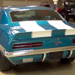 1969 chevy camaro z28 rs tribute muscle car