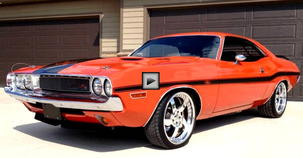 striking 1970 dodge challenger r t pro touring hot cars. Black Bedroom Furniture Sets. Home Design Ideas
