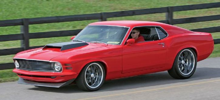 1970 ford mustang sportsroof custom by classic recreations