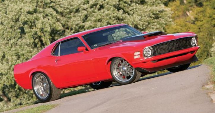 1970 mustang sportsroof custom built by classic recreations