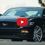 2015 ford mustang gt on vossen wheels