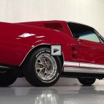 Candy apple red 1967 ford mustang 390 s-code coupe