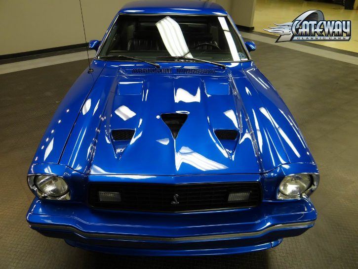 custom built 1978 ford mustang II king cobra