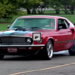 ford mustangs burnout compilation