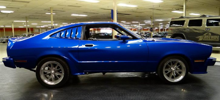 modified 1978 ford mustang II king cobra