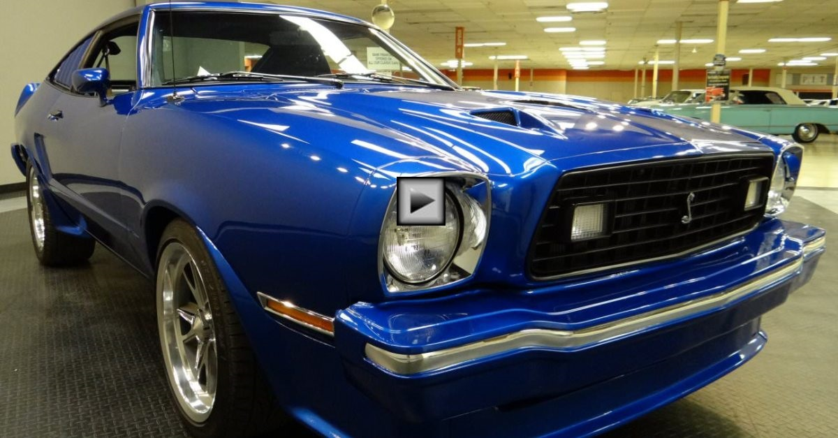 modified 1978 mustang II king cobra