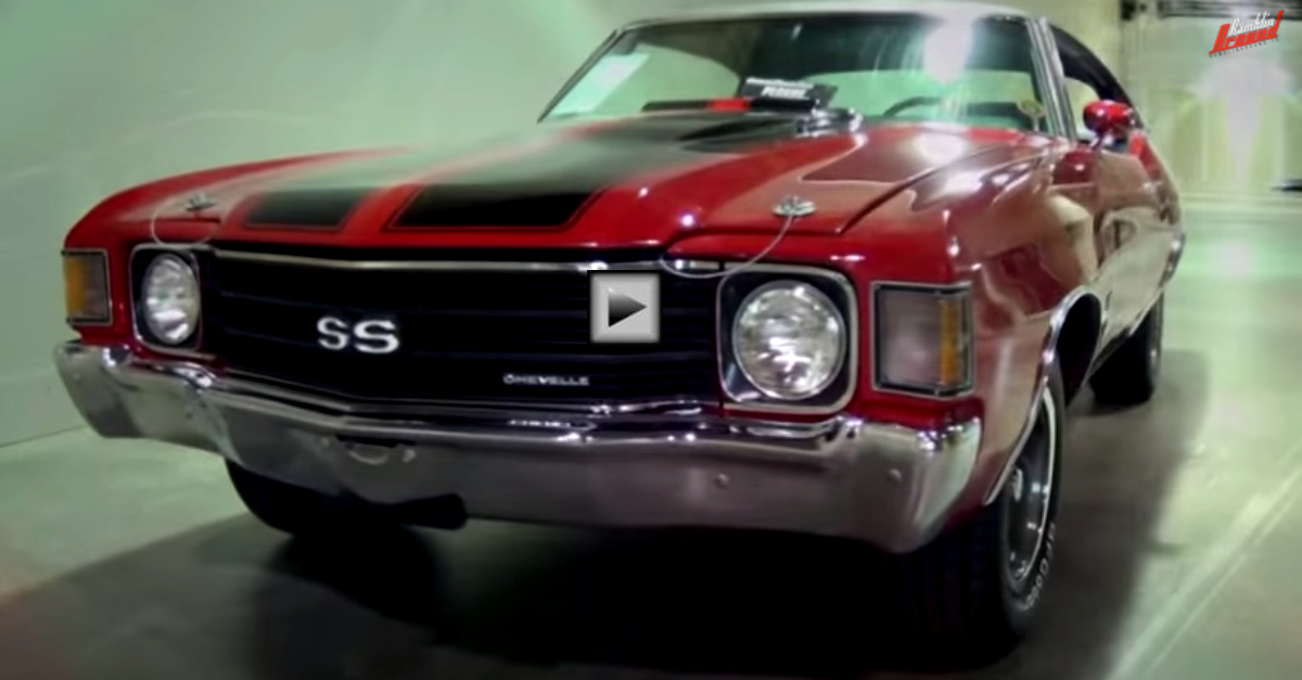 numbers matching 1972 chevy chevelle ss ls3 big block
