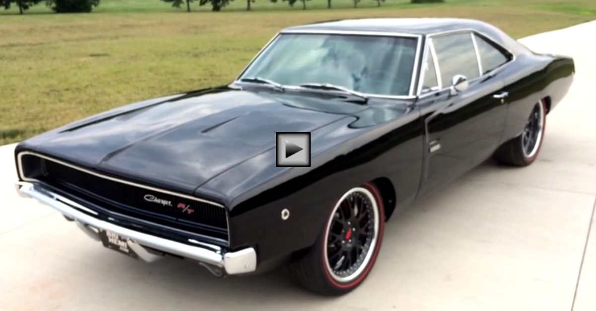 pro touring 1968 dodge charger rt 528 stroker hemi