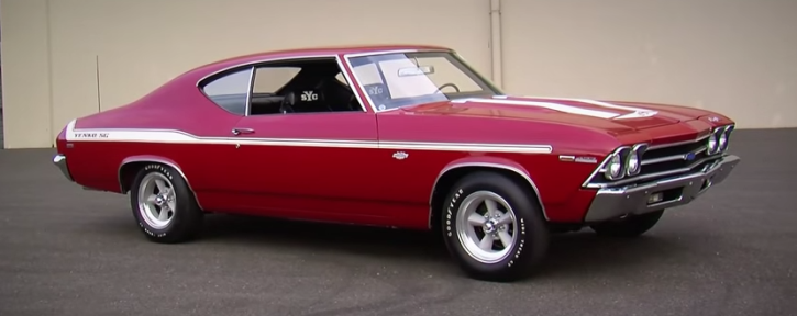 rare 1969 chvy chevelle yenko super car