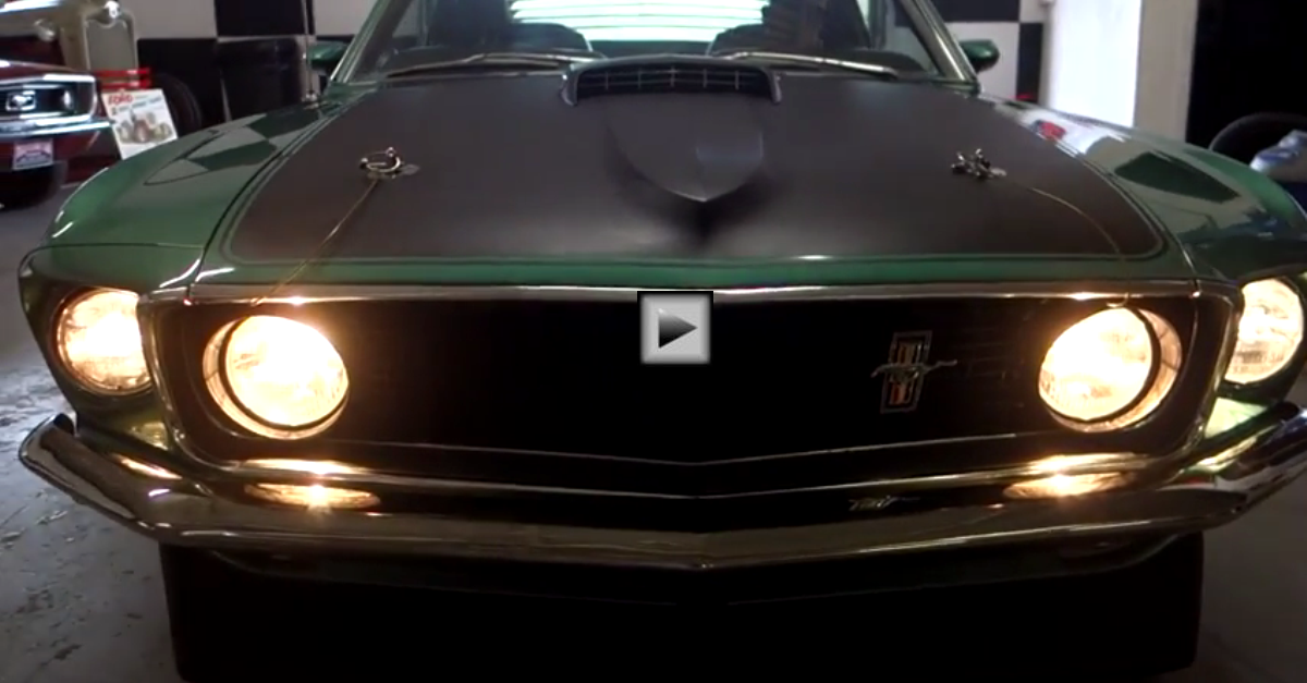 restored 1969 Ford Mustang Mach 1