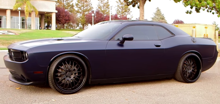 rudy gay 2013 dodge challenger srt8 custom