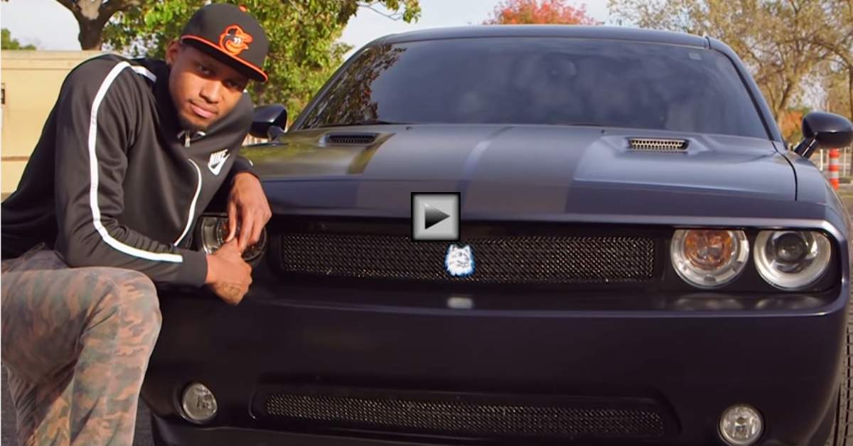 rudy gay custom 2013 dodge challenger srt8