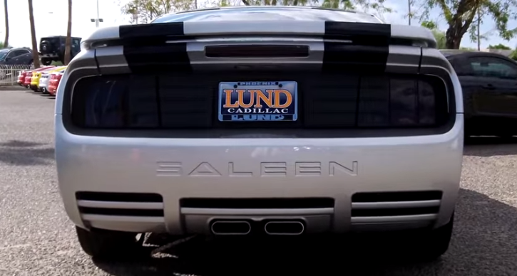 special edition saleen mustang custom show car