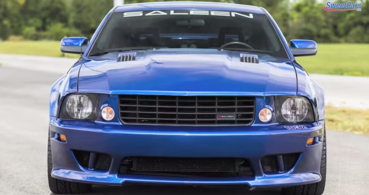 supercharged saleen mustang s281 custom