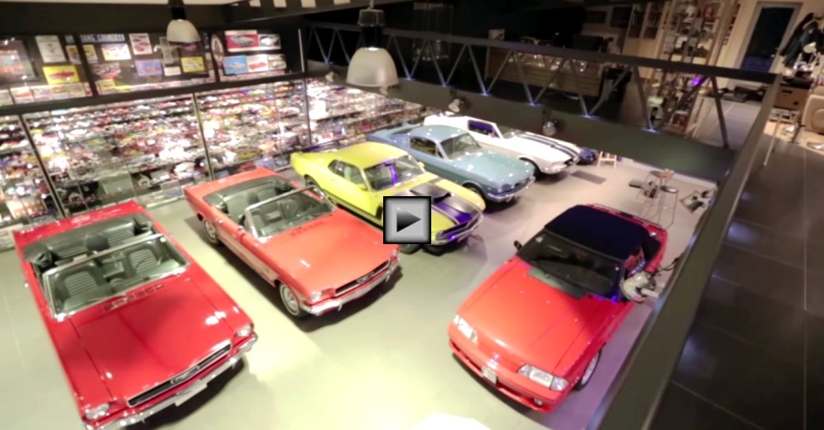 largest ford mustang car collection