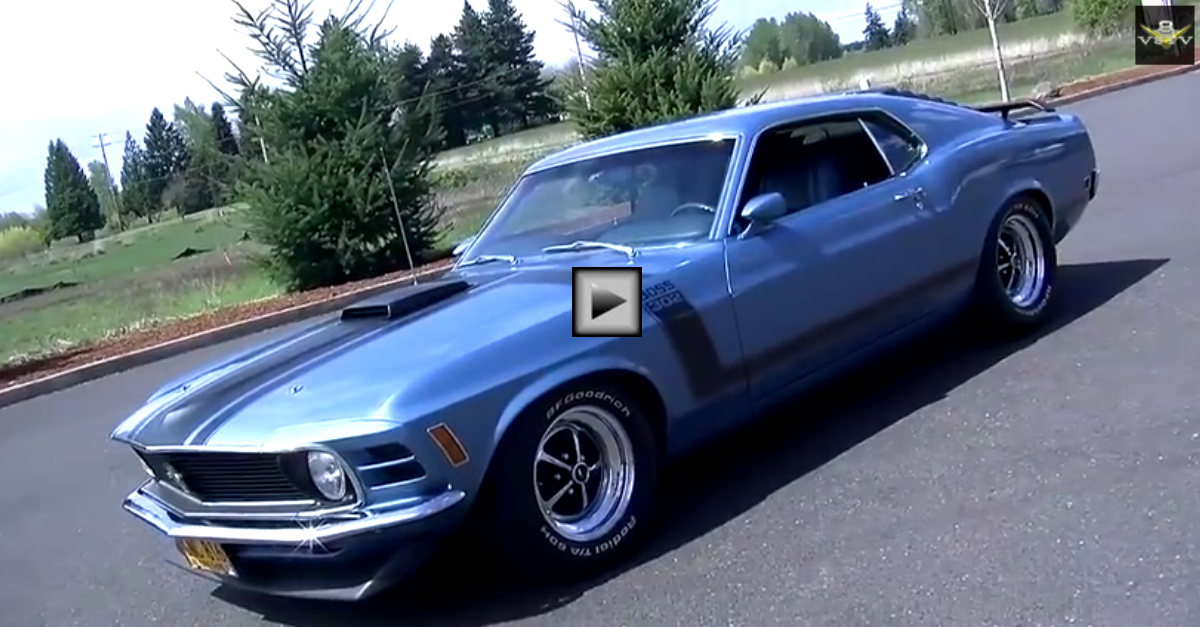 1970 ford mustang boss 302 legendary muscle cars