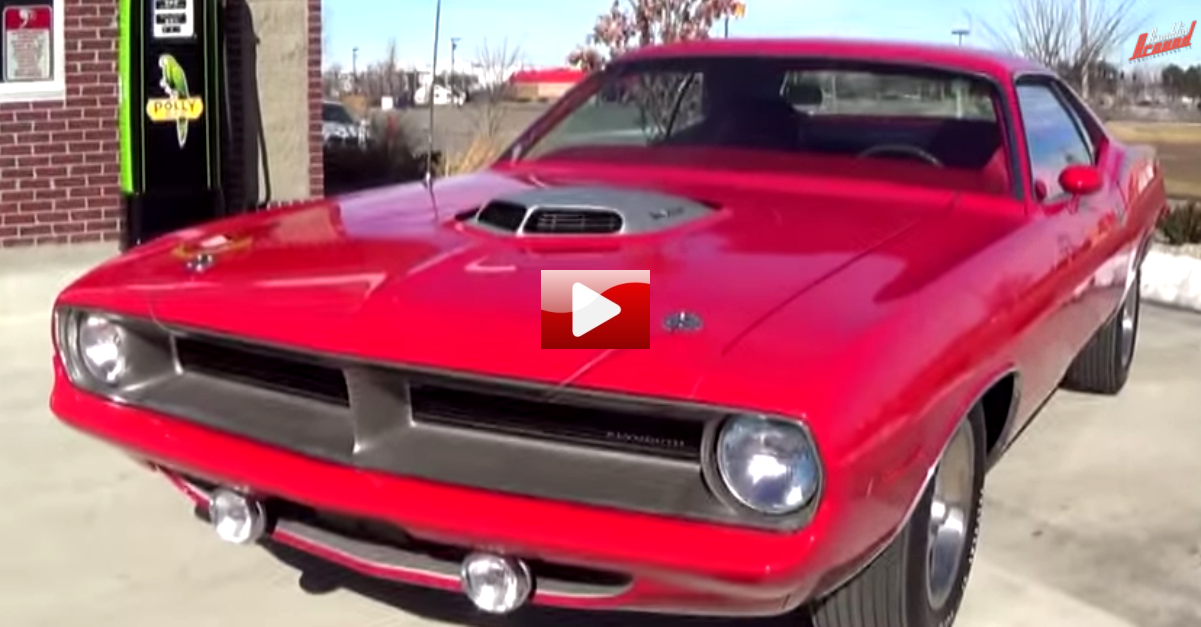 1970 plymouth cuda 440 test drive