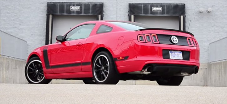 2015 2013 Ford Mustang 0 60