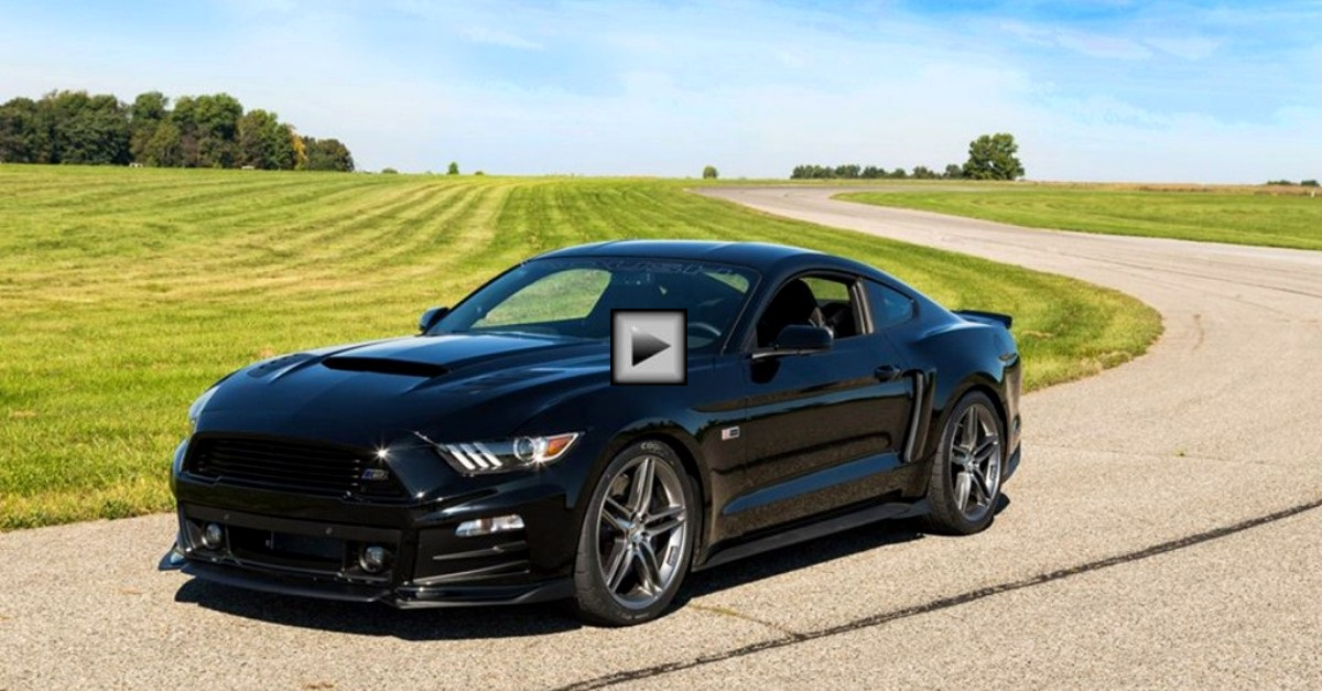 2015 mustang roush stage 3