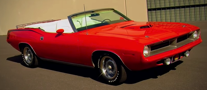 drop top 1970 plymouth cuda 340 muscle cars
