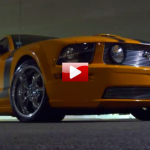 ford mustang gt turbo burnouts & donuts