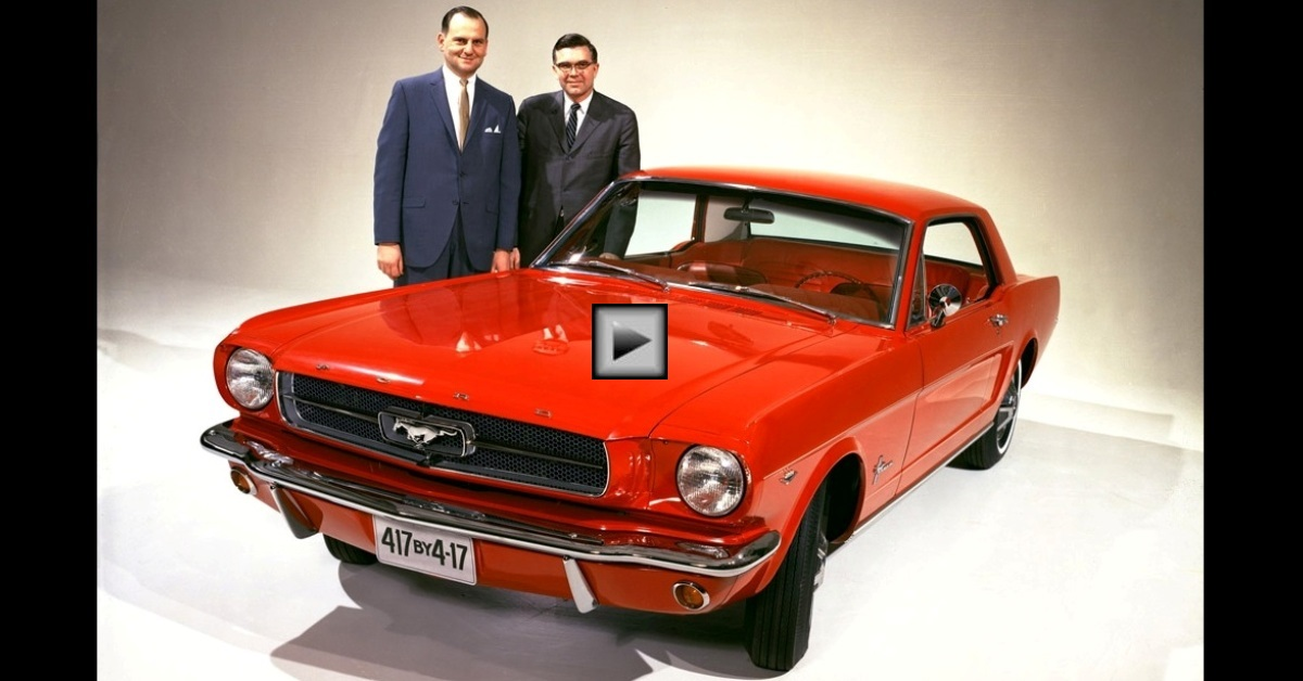 ford mustang histroy with lee iacocca