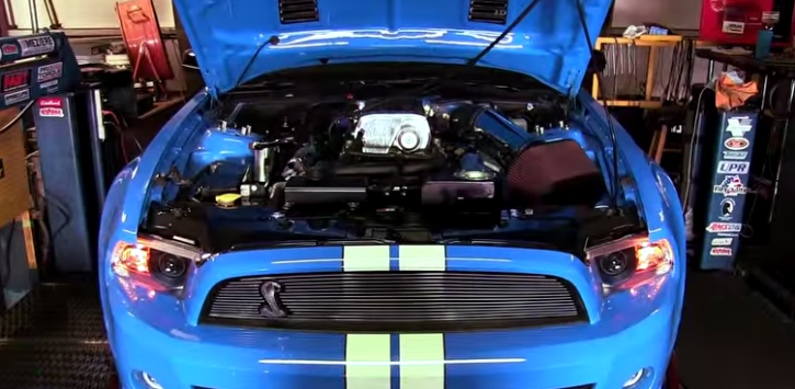 kenne bell supercharged ford mustang gt500 super snake