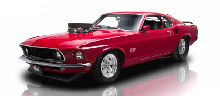 pro street 1969 ford mustang