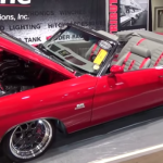pro touring 1970 chevy chevelle convertible red one ss