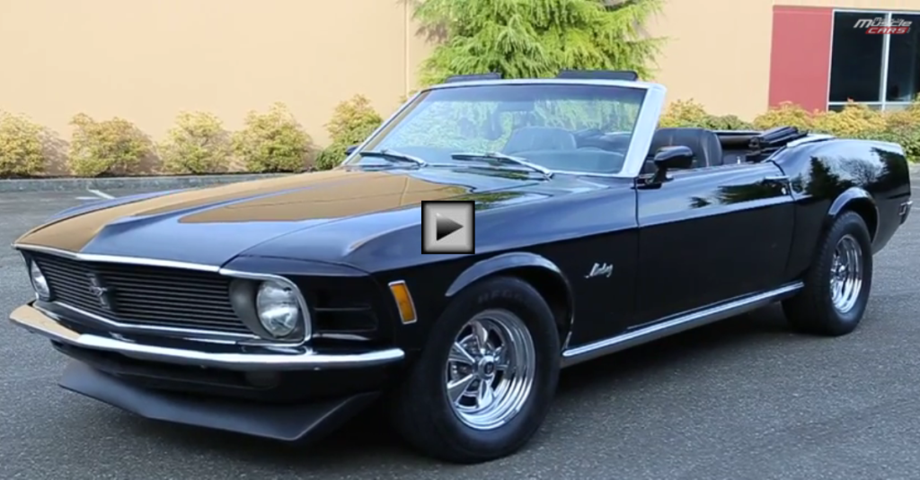 raven black 1970 ford mustang convertible hot cars