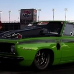 twin turbo 6.5 seconds plymouth barracuda
