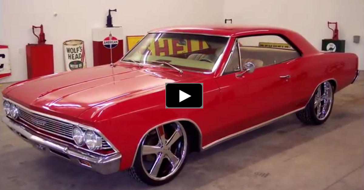 1966 chevy chevelle big block pro touring