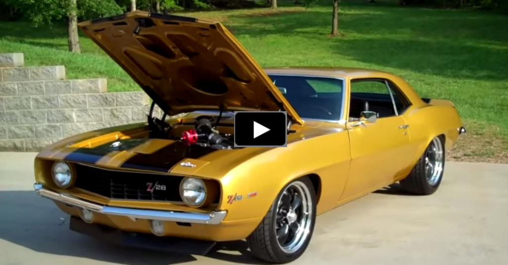 Awesome 1000hp 1969 Chevy Camaro Z28 Muscle Car Hot Cars