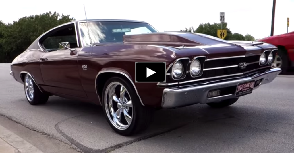 1969 CHEVY CHEVELLE SS 572 | MEAN MUSCLE CAR | HOT CARS