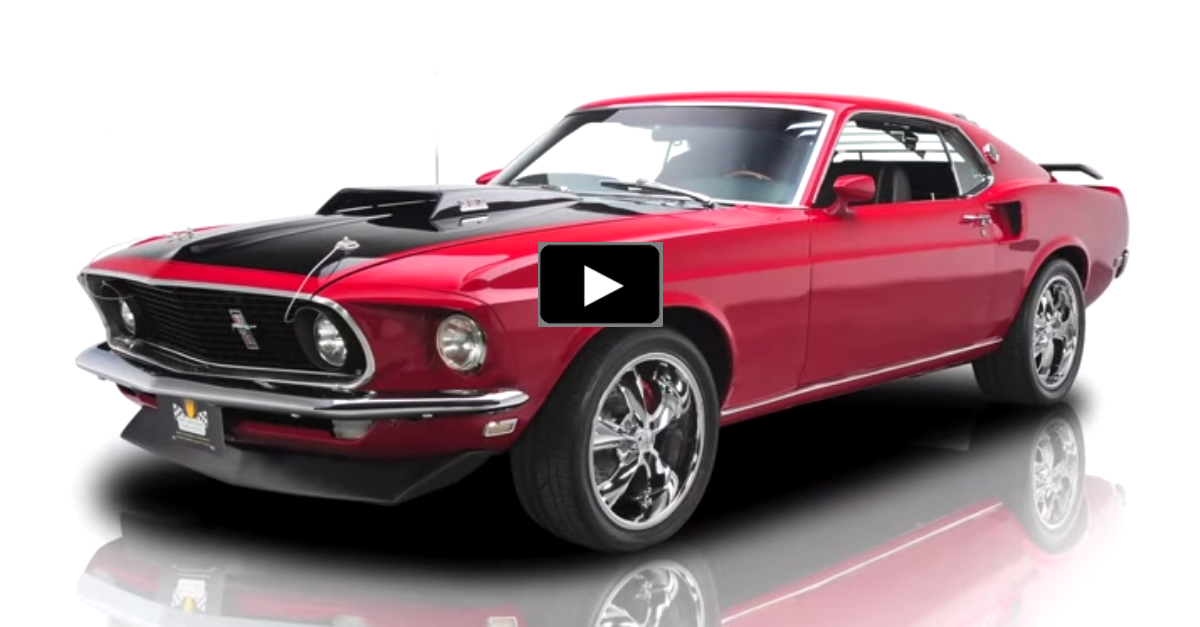 1969 ford mustang mach 1 383 windsor