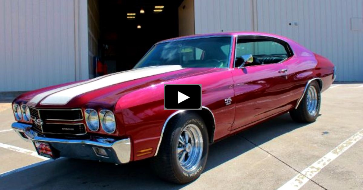 1970 chevy chevelle ss 396 big block
