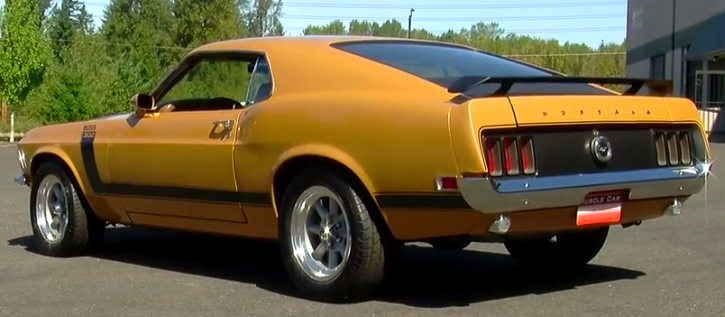 1970 ford mustang boss 302 story