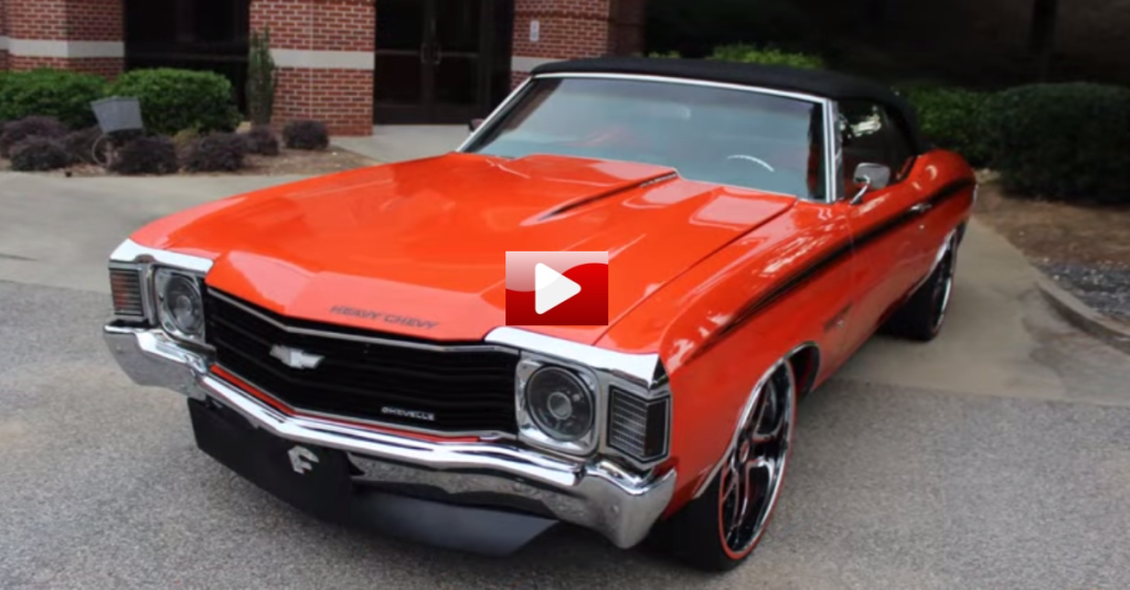 Muscle Car Rims >> WICKED 1972 CHEVROLET CHEVELLE SS CONVERTIBLE | HOT CARS