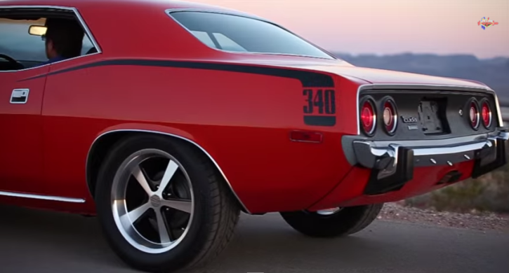 1973 plymouth cuda 340 v8 road test