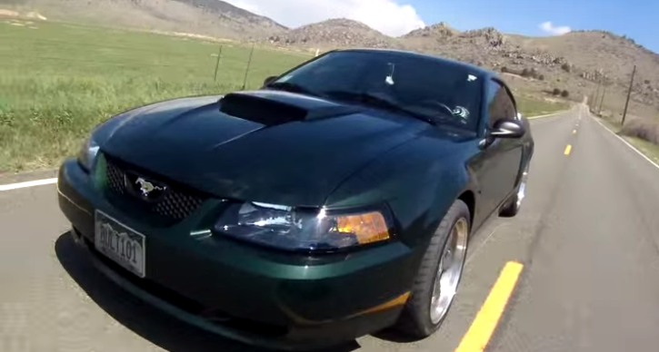 2001 ford mustang bullitt review