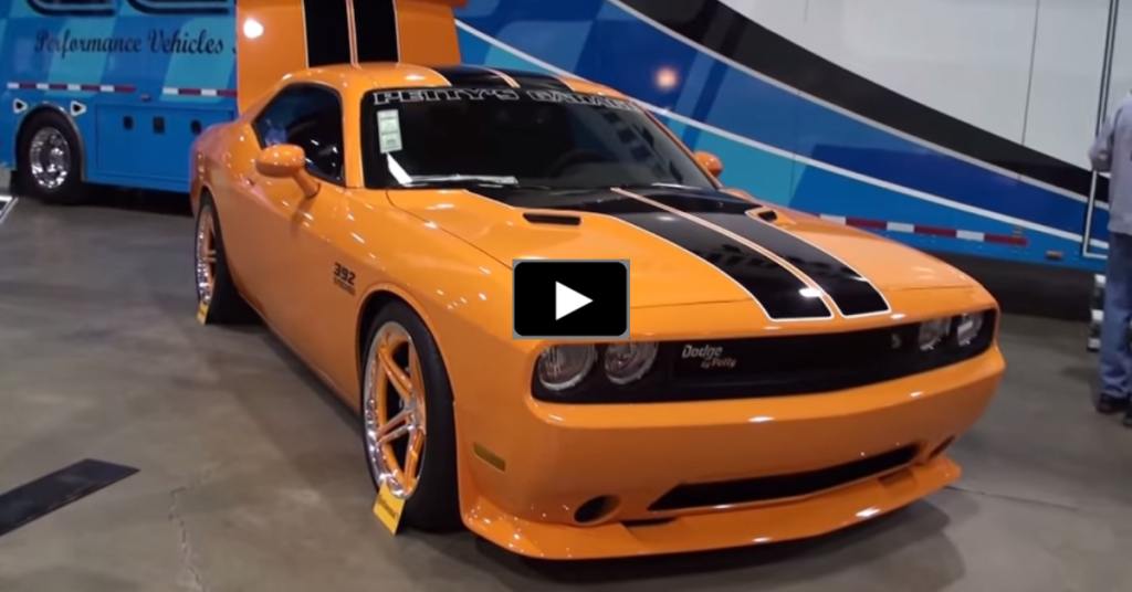 2014 Dodge Challenger Srt By Richard Petty Garage Hot Cars
