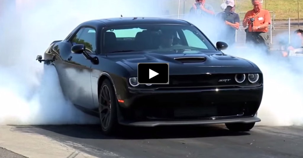 Hellcat For Sale >> 2015 DODGE CHALLENGER HELLCAT BURNOUT COMPILATION | HOT CARS